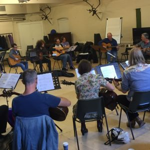 Bert Transcribed workshop at Cecil Sharp House